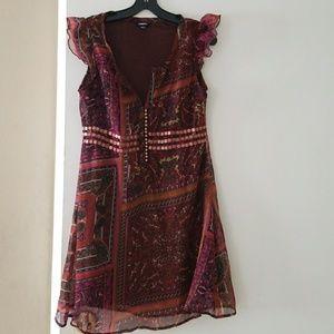Jewel Accent Dress